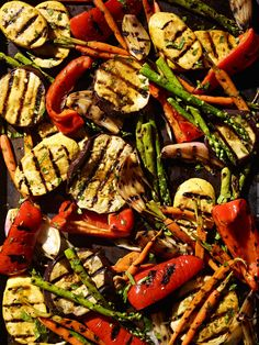Assorted Vegetable Platter #veggies #grill #summer