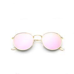 fa1380fdd9 2.82 |Gafas de sol redondas retro 2018 para mujer, gafas de sol de  diseñador de marca para mujer en Gafas de sol para mujer de Accesorios de  ropa en ...