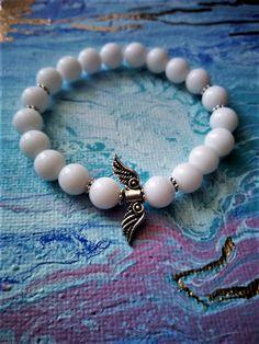 Angel Beaded Bracelets, Angel, Photo And Video, Jewelry, Instagram, Products, Jewlery, Jewerly, Pearl Bracelets