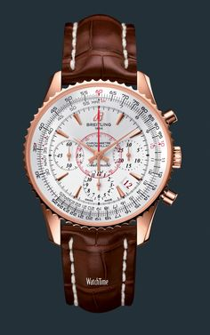 Montbrilliant 01 Limited. I will have a Breitling watch one day. Classy