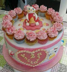 Hello Kitty Torte