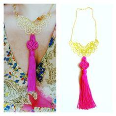 Beautiful Asian Filigree necklace, coming soon to Anouska London Jewellery.
