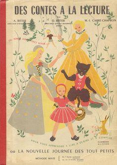 Ritter, Carré-Chapron, Des contes à la lecture ou la nouvelle journée des tout-petits (méthode mixte) 1955