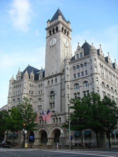 Old Post Office Building, Washington.