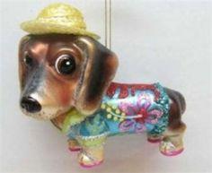 dachshund ornaments - Google Search