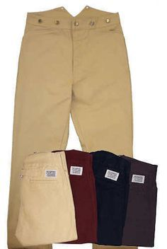 Frontier Classics Wheat Frontier Trousers Sass | eBay - Men's Pioneer Trousers