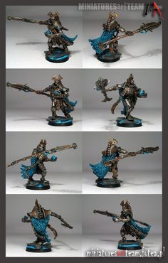 Necron Overlord Warhammer 40k Necrons, Colour Schemes, Dawn, Miniatures, Painting, Color, Jewelry, Color Schemes, Jewlery