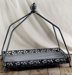 Large 18 x 10 Iron Display Tray $41