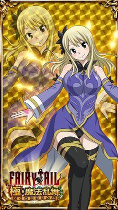 Fairy Tail Fairy Tail Ultimate Dance of Magic - Lucy Heartfilia Natsu Fairy Tail, Fairy Tail Lucy, Fairy Tail Ships, Arte Fairy Tail, Fairy Tail Family, Fairy Tail Girls, Fairy Tail Couples, Anime Fairy, Anime Angel