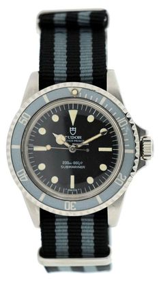 Tudor Oyster Prince Submariner w/ NATO strap