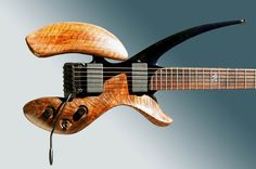 Michael Spalt Apex 1.  Yet another guitar I am just drooling over....