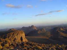 Ahaggar National Park in Algerije