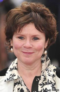Imelda Staunton. She can play any role! A cruel witch, a silly/happy housewife, a hilarious single woman...oh my I love her!