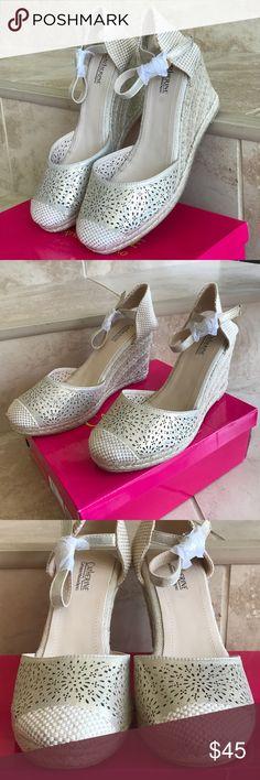 Catherine Malandrino espadrilles wedges Malandrino brand new in box espadrilles /wedges Catherine Malandrino Shoes Espadrilles