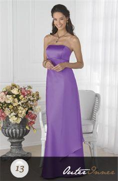 Sleeveless A-line Strapless Floor-length Bridesmaid Dress Style Code: 02735