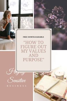 Values are something we don't usually think about, until we feel very bad and unhappy, because we have lived against our values! This exercise helps you to get to the bottom of your values and purpose, and make the decision-making so much easier for you! Go and get yours!