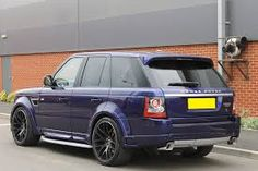 Image result for range rover sport autobiography boot 2012