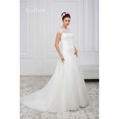 Svadobné krajkované šaty s vlečkou Avgusta Bridal Dresses, Our Wedding, Bridesmaid, Formal Dresses, Collection, Board, Fashion, Wedding Dresses, Dama De Honor