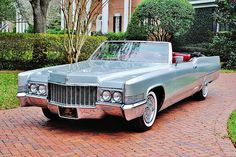 1970 Cadillac Deville Convertible Maintenance/restoration of old/vintage vehicles: the material for new cogs/casters/gears/pads could be cast polyamide which I (Cast polyamide) can produce. My contact: tatjana.alic@windowslive.com
