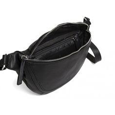 Lækker Adax bumbag i sort blødt kalveskind - utrolig populær - 231294