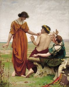 (Thomas Cooper Gotch), 1854-1931(Destiny)1885-1886