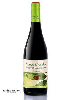 VENTA MORALES ORGÁNICO - TANINOTANINO VINOS INTELIGENTES - VINOS MAXIMUM Photo by #winebrandingdesign