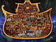 Bilderesultat for inside noahs ark