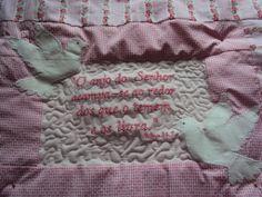Capa de travesseiro. www.saldaterrapatchwork.blogspot.com