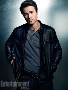 Brett Dalton - Agent Grant Ward in Marvel's Agent of SHIELD.  I'm having severe love/hate issues at the moment...