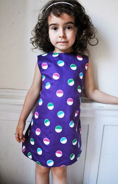 The lollipop trapeze dress pattern  REVERSIBLE  2T to by ManiMina, $5.50