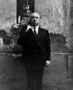 Alfred Hitchcock by Chiara Samugheo
