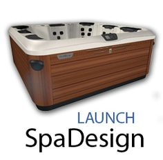 You can design your perfect spa online. Pick everything: colors, size, layout, massage types, and more.