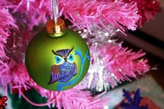 #LillyHoliday owl ornament