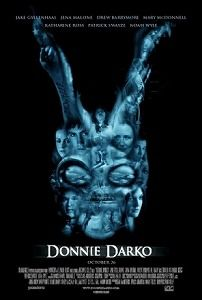 Donnie Darko One of my all time favorites, and I don't know why. Jake and Maggie Gyllenhaal along with Jena Malone star in this dark, cerebral thriller. Mary Mcdonnell, Jena Malone, Maggie Gyllenhaal, Patrick Swayze, Donnie Darko Poster, Cult Movies, Horror Movies, Funny Horror, Movies Showing