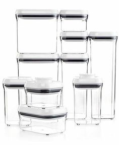 OXO 10-piece container set is a clear choice for your potluck leftovers