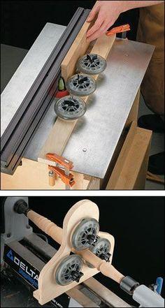 Aplicaciones para ruedas de patines: Fresadora y torno.: