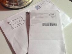 Cartas com os Mimos da Arqueiro e Novo Conceito.