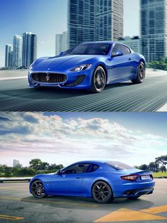 2013 Maserati from behind are sexy as fuck Maserati Gt, Ferrari, Lamborghini, My Dream Car, Dream Cars, Bugatti, Rolls Royce, Supercars, Maserati Granturismo Sport