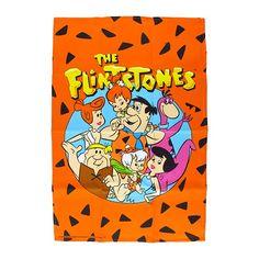 Deixe sua cozinha de cara nova e muito mais alegre com este pano de prato super divertido da Família Flintstones.