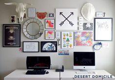 Incredible Gallery Wall [ Specialtydoors.com ] #office #hardware #slidingdoor