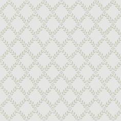 Trellis Leaves by Boråstapeter - White and Black : Wallpaper Direct Geometric Wallpaper Murals, Wallpaper Panels, Wallpaper Roll, Wall Wallpaper, Pattern Wallpaper, Kitchen Wallpaper, Classic Wallpaper, Black Wallpaper, Beautiful Wallpaper