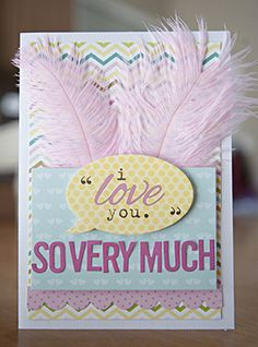 Bella Blvd. Love and Marraige. Feathers. World Card Making Day. Card by DT Member Katie Rose