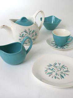 Beautiful 50's tea set