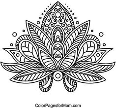 Paisley 24 Coloring Page --> If you're in the market for the best adult coloring books and writing utensils including colored pencils, watercolors, gel pens and drawing markers, check out our website at http://ColoringToolkit.com. Color... Relax... Chill.