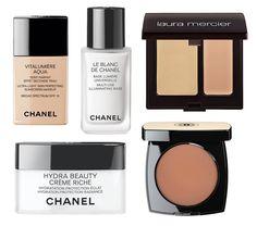 Gisele: hidratante Hydra Beauty Crème Riche; base Vitalumière Aqua; corretivo Laura Mercier; bronzer Les Beiges; iluminador Chanel