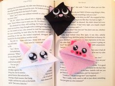 Cute Kawaii Corner Bookmarks