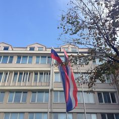 United Thoughts of a Wanderluster: College trip around Serbia! :)  Architecture from Sabac.