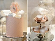 Industrial Chic Bridal Inspiration - Polka Dot Bride | Cakes - One Sweet Girl