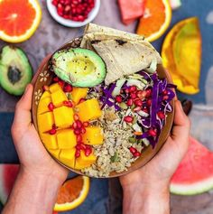 Amazing #buddhabowl creation by @connordays🙌🏻 Doesn't it have everything we want in a bowl?😍👅
