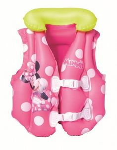 Bestway 91070 Vesta, Minnie, 51x46 cm, detská Enjoy Summer, Summer Fun, Daisy, Age 3, Your Child, Baby Car Seats, Minnie Mouse, Spiderman, How To Memorize Things